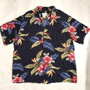 【Bishop St.】アロハシャツ Made in Hawaii