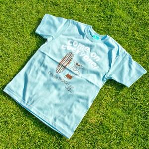 サボッち 2020 サーフTシャツ フロストブルー