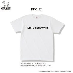 ブルテリアオーナー  *オーダーTシャツ ナチュラル