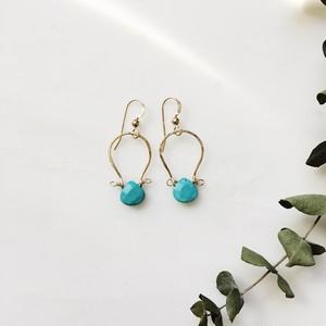 Turquoise Swing Earring