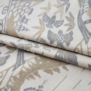 2365 ゆったりサイズ◆寿峰工房謹製◆証紙付◆日本昔話絵絣紬
