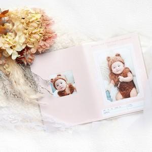 お名前・お写真入り母子手帳カバー【sui001】