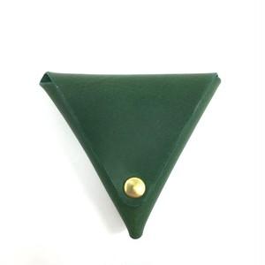 三角コインケース【グリーン】