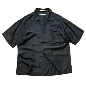 "90's PERRY ELLIS  Open collar shirt ""100% Shilk"""