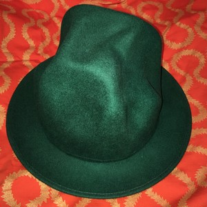 Worlds End Mountain Hat Green+Giant Orb silver