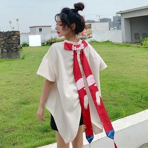 【トップス】個性的キュート可愛いファッション設計感あり半袖Tシャツ48455709