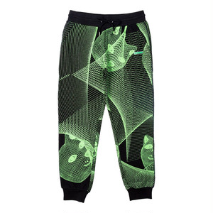 RIPNDIP - Future Trip Glow In The Dark Sweat Pants (Black)