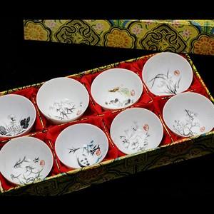 中国茶用 茶杯8個セット (259)