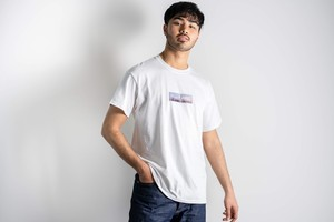【4/1 21:00 販売開始】ThreeArrows BOX LOGO S/S TEE(manhattan)