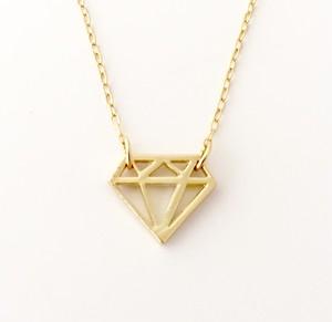 ダイヤのカタチネックレス