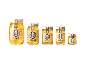 小瓶で楽しむ!国産・純粋はちみつ(単花蜜50g4本・百花蜜50g1本・日本ミツバチのはちみつ50g1本)6本セット