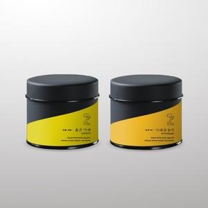 煎茶&釜炒り茶セット 30g 茶缶