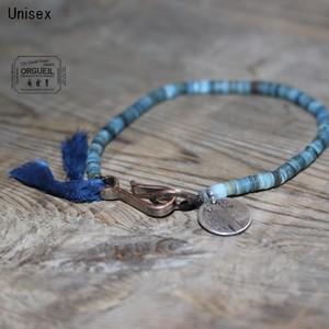 ORGUEIL  シェルブレスレット Shell Bracelet OR-7062 (INDIGO)