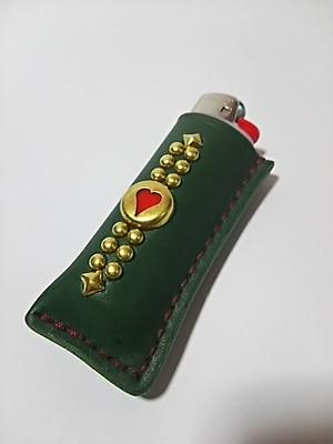 ライターケース-green