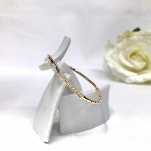 K18 ダイヤモンド 伸縮ブレスレット