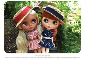 Dear Darling fashion for dolls ouiouiカンカン帽
