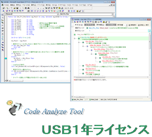 Code Analyze Tool  USB 1年ライセンス