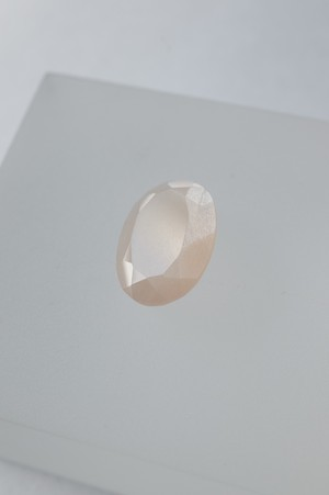 Faceted Moonstone - 010
