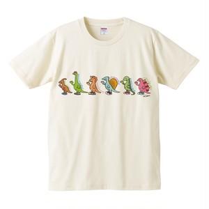 ◀SALE▶ぞろぞろ恐竜/Tシャツ