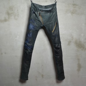 Leather Bonding Jeans- 3Years Aging Sample