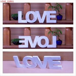 LOVE <H75mm  白>