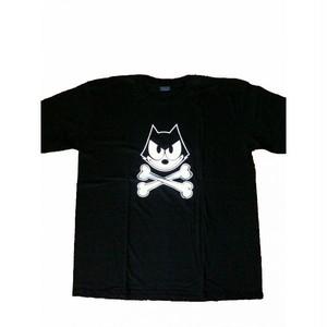 フィリックス・ザ・キャット Felix the Cat プリント Tシャツ