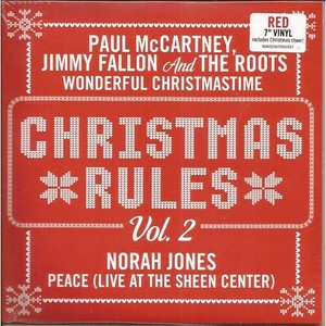 Paul McCartney, Norah Jones他 / Christmas Rules[新品7inch]