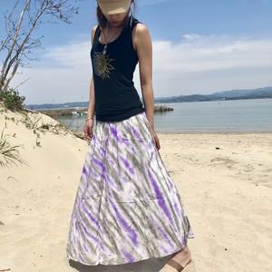 タイダイ2wayスカート