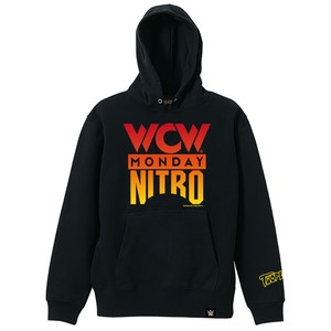 TWOPLATOONS × WCW MONDAY NITRO HOODED / BLACK