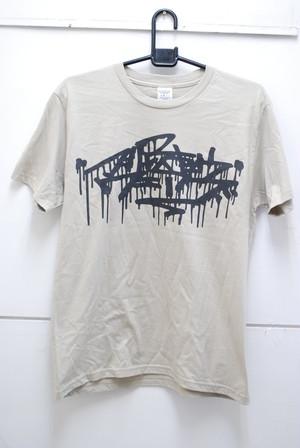 カタカナロゴTシャツ シルバーグレー