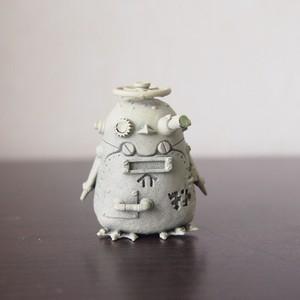 【塗装キット】未塗装ポストペンギン(銅)