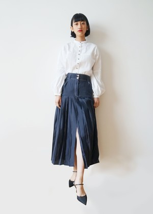 IAPETUS PLEATS SKIRT【内金50%】
