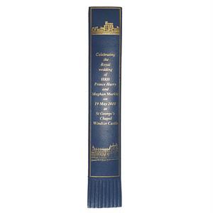 革製ブックマーク ヘンリー王子ご結婚記念【ブルー】R.C.Brady 90251-BLUE