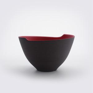 NINJYA POT - 波 Sサイズ 赤