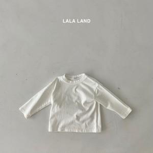 【即納】LALALAND basic tee  (韓国子供服 レイヤードロンT)