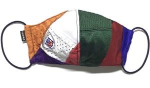 【デザイナーズマスク 吸水速乾COOLMAX使用 日本製】NFL CRAZY PATTERN SPORTS MASK CTMR 1113015