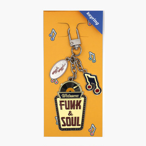Key ring - Funk and Soul