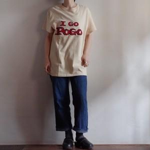 1970-80s Hanes All Cotton T-Shirt / I GO POGO / ヘインズ ヴィンテージ ムービー Tシャツ