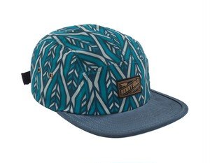 BENNY GOLD ARROW PATTERN 5PANEL BLUE