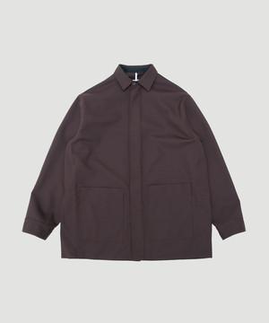 OAMC Aberdeen Shirt Wool/Poly Brown OAMP601766