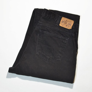 Used☆ 90's GAP BAGGY FIT JEANS NO.10 BGY(BLACK)