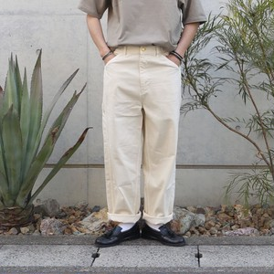 HARVESTY / BIG PAINTER DENIM PANTS / IVORY