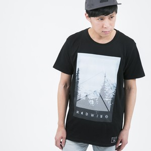 Nature T-shirt type-Night Black