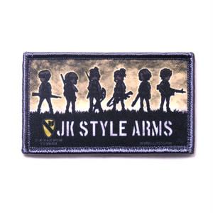 クロス転写パッチ 分隊イメージイラスト JK STYLE ARMS 60年代米軍兵装JK