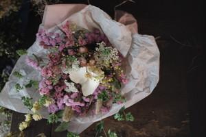 大きめ花束〜やっぱりかわいい!ピンク系