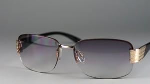 レディースファッションサングラス6215[ハードケース付き]