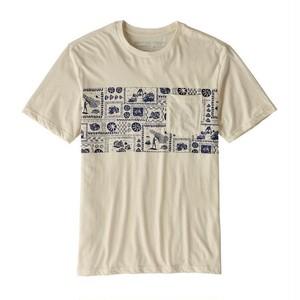 patagonia / パタゴニア/ メンズ・リミテッド・エディション・オピヒ・マン・オーガニック・ポケット・Tシャツ / 39196 / Natural w/Classic NavyNCV/ NCV