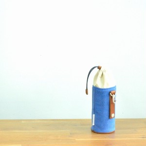 CANVAS PETBOTTLE HOLDER / DEEP BLUE