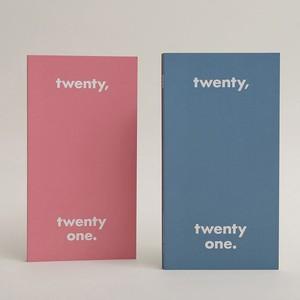 [OH,LOLLYDAY!] twenty,twenty one. 年間ダイアリー2021 mini (全2色)