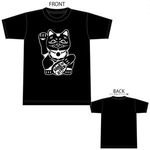 招き猫 B4° ビヨンド Tシャツ TEE 半袖 半袖Tシャツ プリントスター 5.6OZ ヘビーウェイト 1595